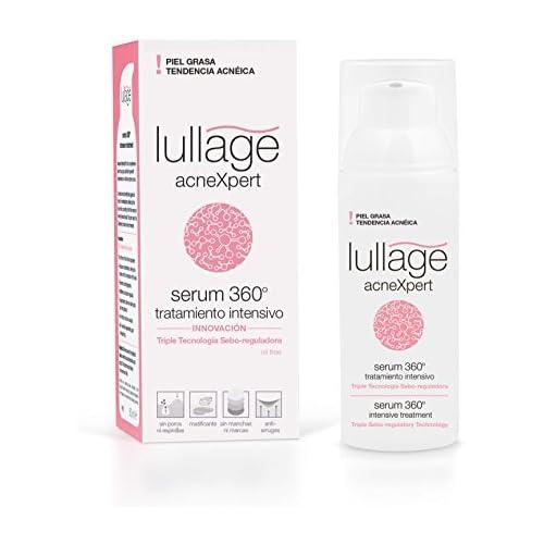 chollos oferta descuentos barato Lullage acneXpert Tratamiento Intensivo Serum 360º para la piel grasa con imperfecciones o propensa al acné Triple Acción Sebo Reguladora Oil Free 50 ml