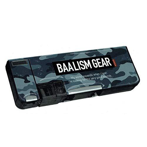 Boys stationery soft pencil case (bar rhythm gear Blau) š new semester collection š 331356