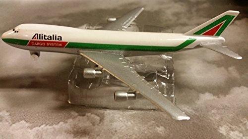 AV4742025 Alitalia Airlines Cargo System Boeing 747 Jumbo Jet Plane 1: 600 Scale