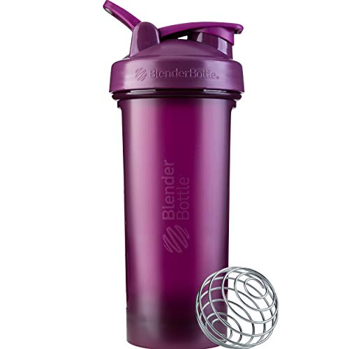 BlenderBottle Classic V2 Shaker Bottle, 28oz, Plum