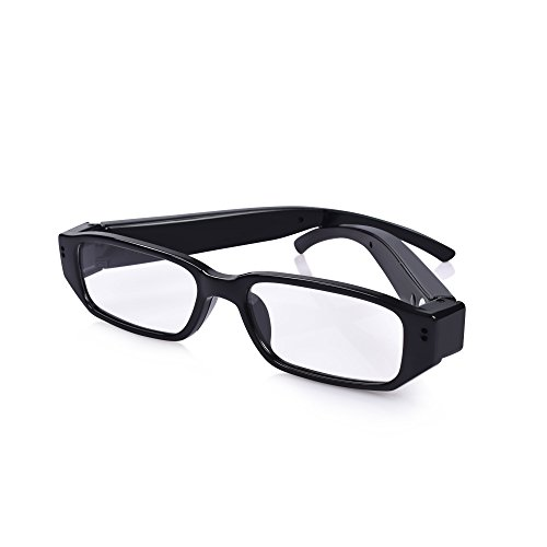 HD 1280×720P Eyewear Hidden Camera Eyeglasses Spy Camera Glasses Fashion Loop Video Recorder Portale Security - Long Get Does Take Glasses To It How