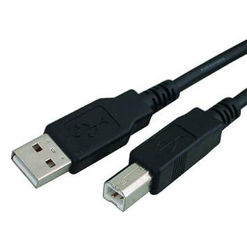Cable de impresora USB A - B para Epson Impresora de recibos ...