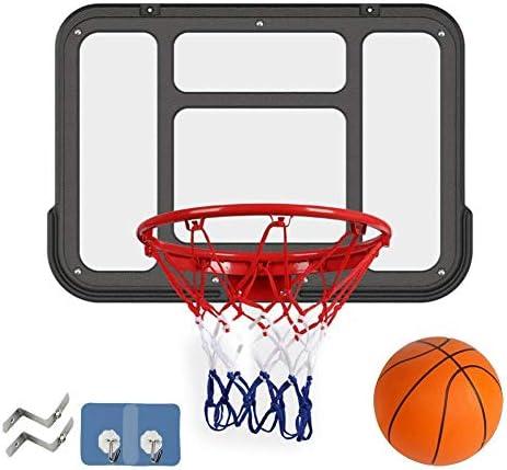 子供の世帯の射撃機械、バスケットボールの棚、壁に取り付けられたバスケットボールボード、(ゴム製ボール、固体ばね、バスケット付き)