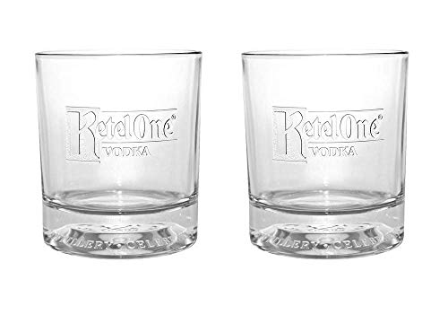 Ketel One Signature Rocks Glasses New 2017 Edition - Set of 2