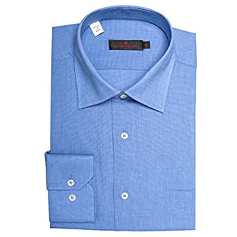 Pierre Cardin Blue Shirt Neck Shirts For Men