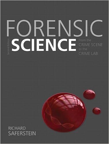 forensic science 2nd edition saferstein