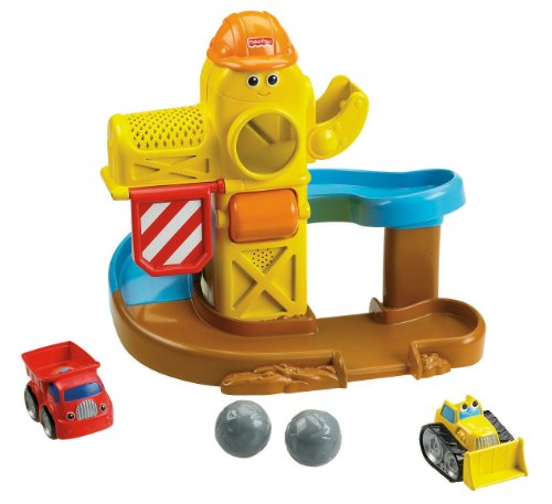 Fisher Price Lil Zoomers Sounds Construction