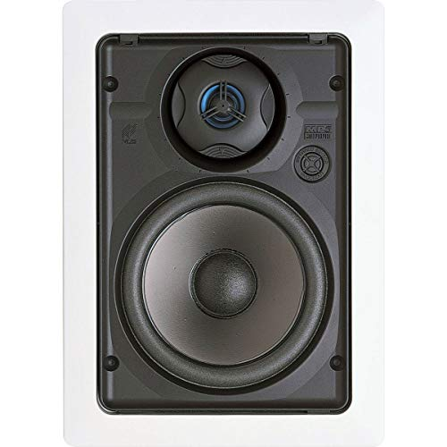 Niles MP5R 5-1/4' Two-Way Multipurpose In-Wall Speaker with Bracket Kit - Pair (White)