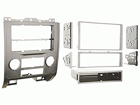 Metra 99-5814S Single or Double DIN Installation Dash Kit for 2008-up Ford Escape, Mercury Mariner, and Mazda Tribute - Ford Installation Kit