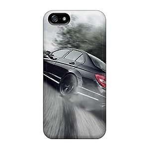 Premium Tpu Mercedes Benz C63 Amg Drift Cover Skin For Iphone 5/5s