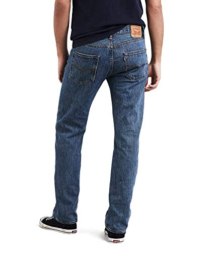 0841 Stonewash Original medium Blau Straight 501 Levi's Jeans Femme 8ZUpPPAq