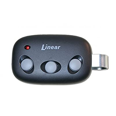 Linear DNT00089 Mega Code MCT-3 Three Button Visor Garage Door Remote - LD033 LD050 LS050 Compatible