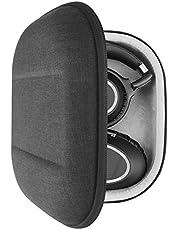 Geekria UltraShell etui na słuchawki do PXC 550 II bezprzewodowe, PXC 550, PXC 480 - wymienna ochronna twarda powłoka podróżna torba z miejscem na akcesoria (ciemnoszara)