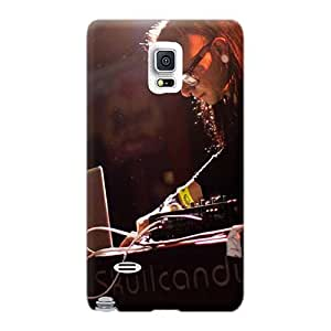 Shockproof Hard Cell-phone Cases For Samsung Galaxy Note 4 (ZyG8371yumW) Provide Private Custom Realistic Skrillex Bringing It Pictures