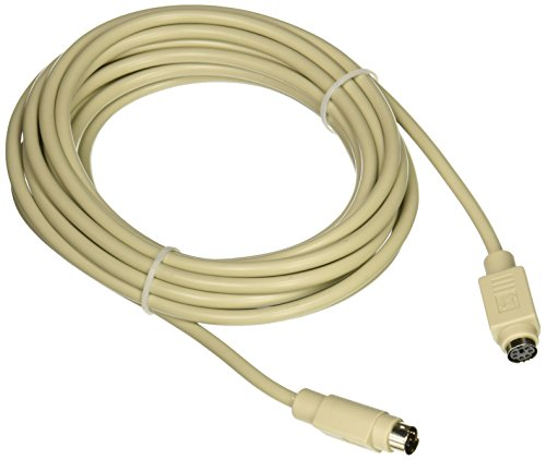 C2G 09469 PS/2 M/F Keyboard/Mouse Extension Cable (15 Feet, 4.57 Meters)