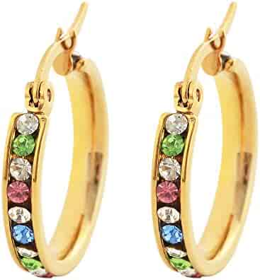 4536a85bcd83d Shopping Golds or Greens - Other Metals - Round - Earrings - Jewelry ...