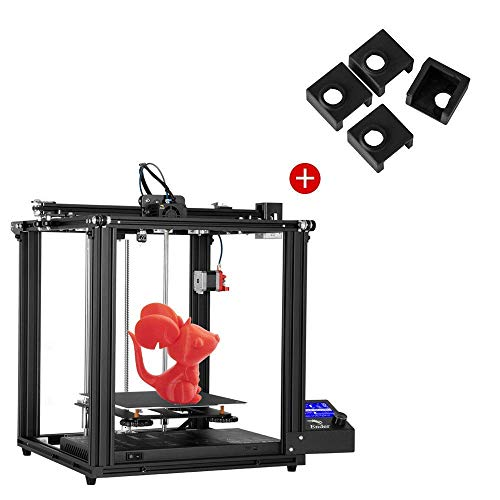 Creality Ender 5 Pro 3D Printer and 4PCS 3D Printer Heater Block Silicone Cover