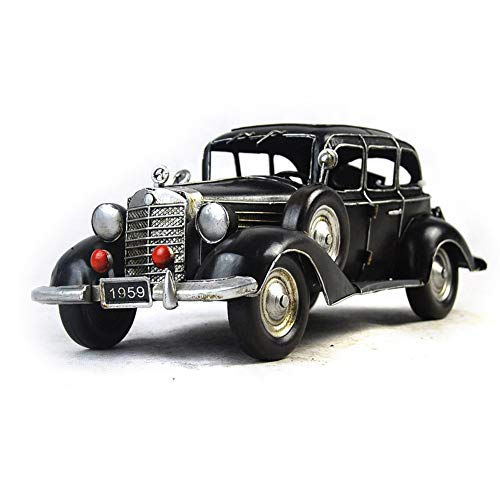 GGMC 1936-1940 Mercedes Benz Typical 26 Model Metal Antique Vintage Car Model Home Décor Decoration Ornaments Handmade Handcrafted Collections Collectible Vehicle Toys from GGMC