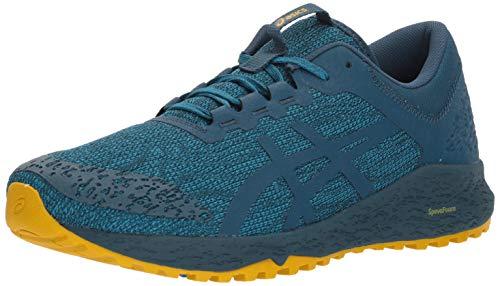 ASICS Men's Alpine XT Running Shoe, Turkish Tile/Ink Blue/Lemon Curry 8 D(M) US (Asics Running Shoes Trail Men)