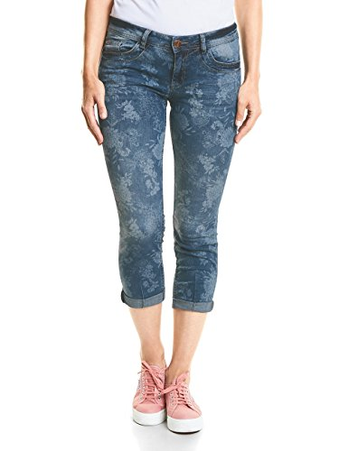 Street One Jean Slim Femme Multicolore (Authentic Laserprint Wash 11458)