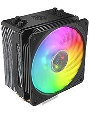 مبدد حراري هايبر 212 لوحدة المعالجة المركزية بالوان الفضاء اللوني ار جي بي من كولر ماستر