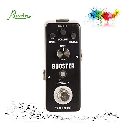 Rowin 2017 Booster mini Guitar Effect Pedal with True Bypass LEF-318