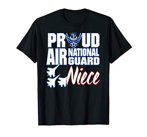 Air National Guard Niece Shirt USA Air Force Military