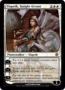 Magic: the Gathering - Elspeth, Knight-Errant - Shards of Alara - Foil