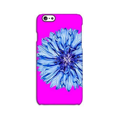Blue Flower On Pink Deflector Back Case for Apple iPhone 6 6S