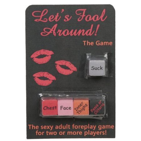 Gift Set of Lets Fool Around Dice Game And Wittle Wanachi...