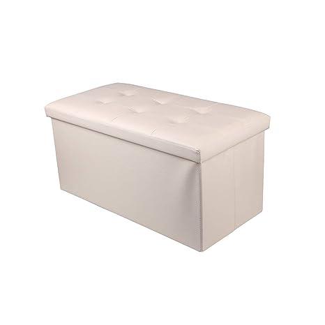 Amazing Amazon Com Folding Storage Double Cube Footrest Seat Creativecarmelina Interior Chair Design Creativecarmelinacom