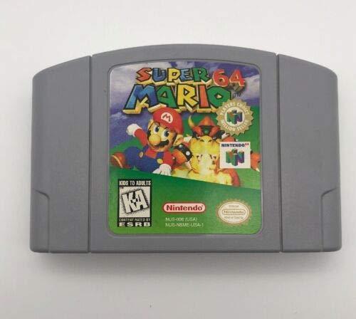 Super Mario 64 (Renewed) (Nintendo 64 Super Mario Brothers)
