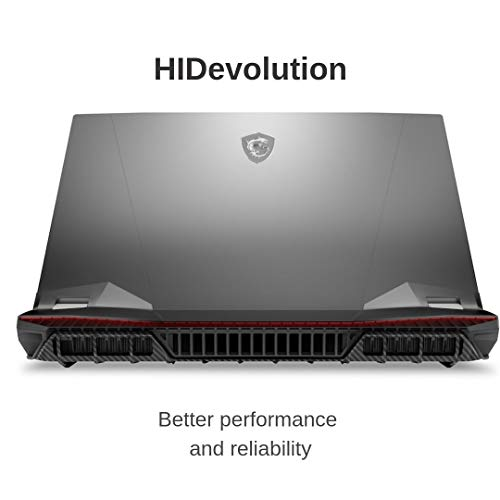 "HIDevolution MSI GT76 Titan DT 9SG 17.3"" FHD 240Hz | 3.6 GHz i9-9900K, RTX 2080, 128GB 2666MHz RAM, 512GB PCIe SSD + 1TB HDD | Authorized Performance Upgrades & Warranty"
