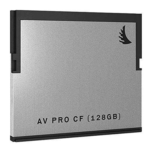 Image of CompactFlash Cards Angelbird AVP128CF, 128GB AV Pro 2.0 Memory Card