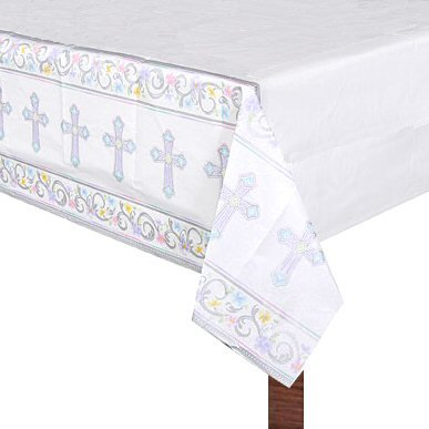 Blessed Day Paper Table Cover - 54