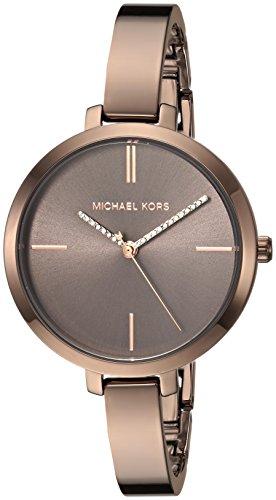 Michael Kors Women's 'Jaryn' Quartz Stainless Steel Casual Watch, Color:Brown (Model: MK3736) by Michael Kors