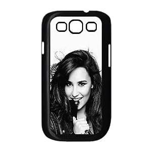 Samsung Galaxy S3 9300 Cell Phone Case Black Demi Lovato Black And White FXS_681200