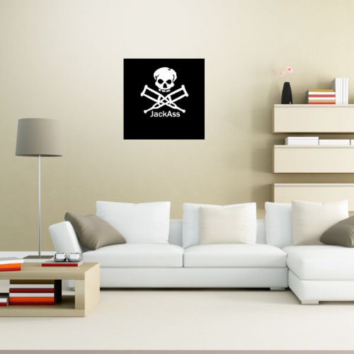 Jackass Johnny Knoxville Wall Graphic Decal Sticker 23