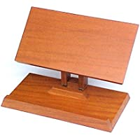 Book Stand - Large Book Holder Made of Solid Hard Wood - Adjustable Book Stands to Hold Large or Small Books & Documents - Bibles, Binders, Dictionary, Tablets, eReaders & More.