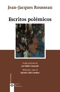 Escritos polémicos par Rousseau