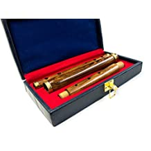 ProKussion Traditional Irish Rosewood Flute with Case