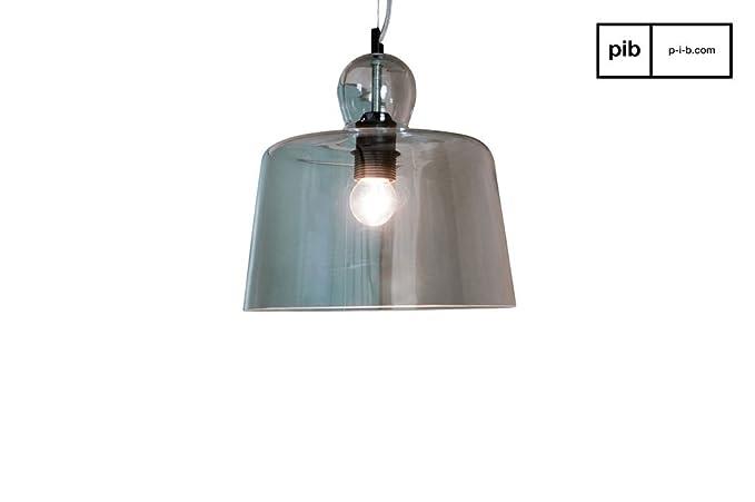 Lampade In Vetro A Sospensione : Pib lampade da soffitto lampada a sospensione a campana di vetro