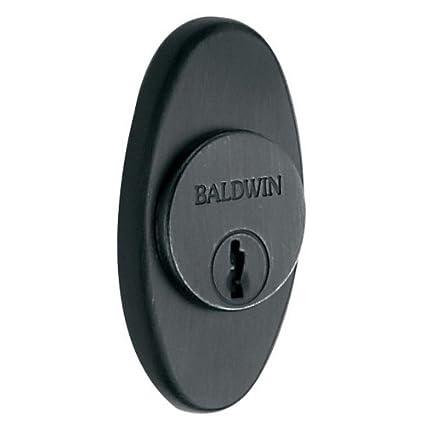Baldwin 6754 Oval Decorative Cylinder Trim Collar Oil Rubbed Bronze
