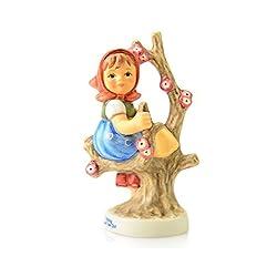 ISDD Cuckoo Clocks Hummel figurine Apple Tree Girl, original MI Hummel Collection, gift-boxed