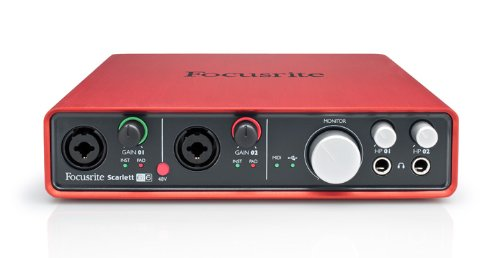 Focusrite Scarlett 6i6 (1st GENERATION) 6 In/6 Out USB 2.0