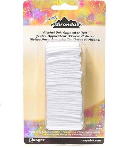 Tim Holtz Adirondack Alcohol Ink Applicator Felt 50/Pkg-For Tim20745