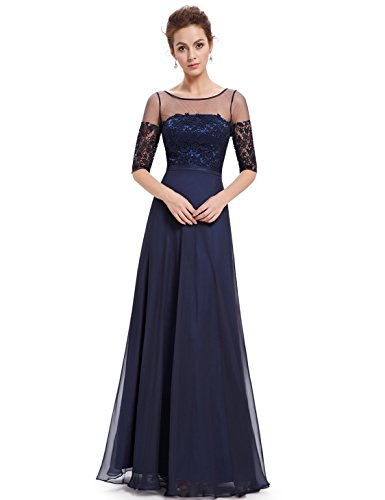 evening dresses 3 4 length - 4