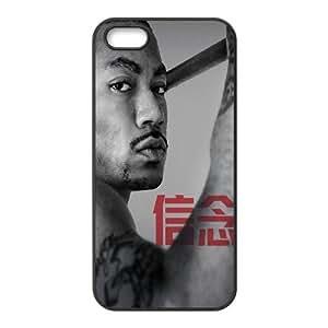 Customized Hard Back Phone Case for Iphone 5,5S Cover Case - Derrick Rose HX-MI-111304