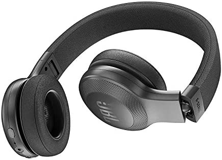 Amazon.com: JBL E45BT On-Ear Wireless Headphones (Black ... on