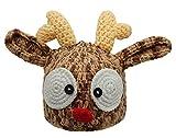 Bienvenu Christmas Santa's Reindeer Crochet Toddler Baby Hat Beanie Photo Prop,M Size